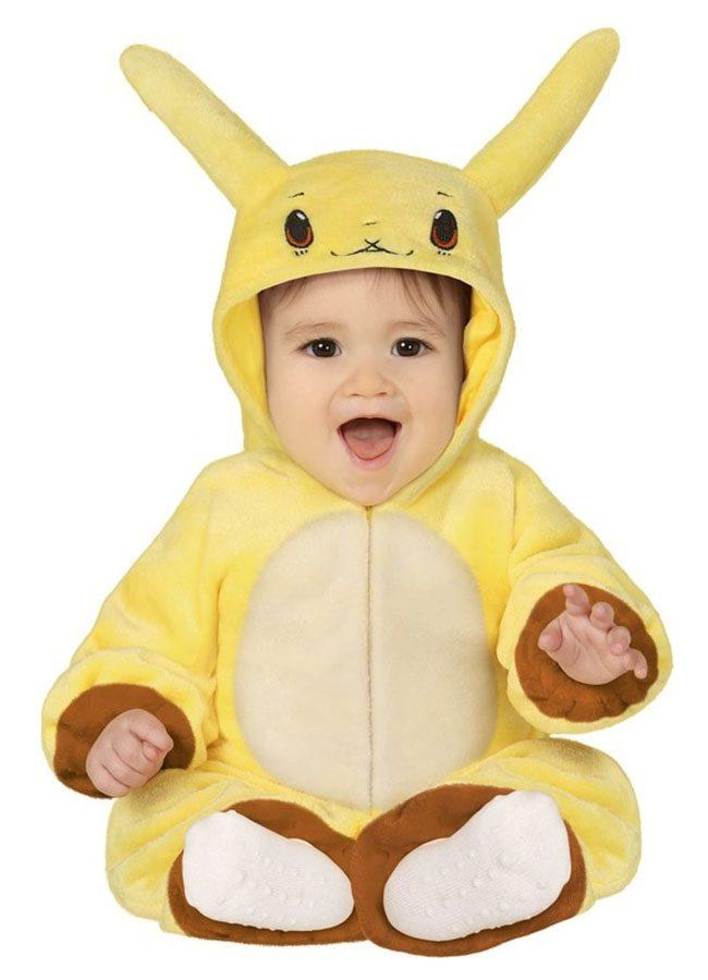Pikachu baby onesie