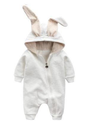 baby onesie konijn