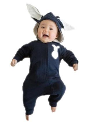 baby romper konijn