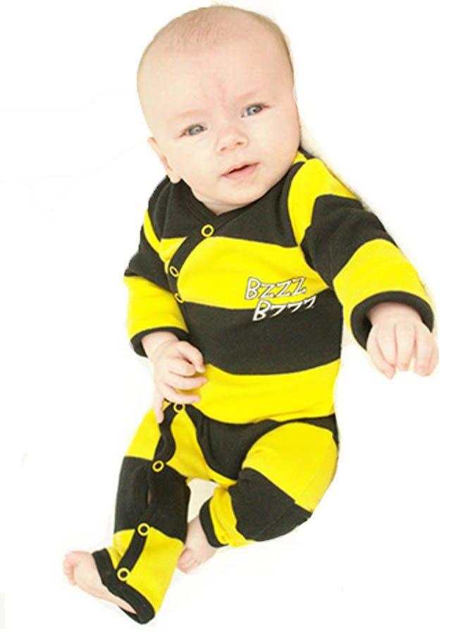 bijen onesie baby