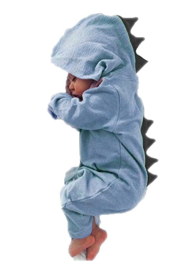 dino blauw baby