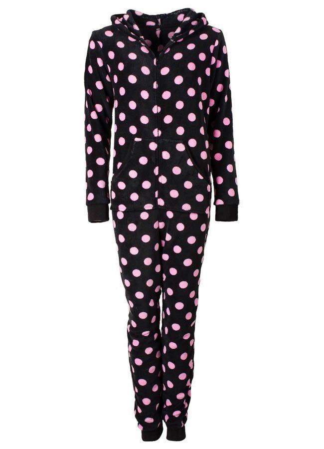 pyjama zwart dames