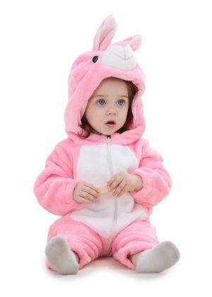 Konijnen Onesie Baby
